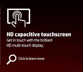 HD capacitive touchscreen