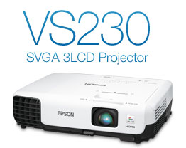 VS230 SVGA 3LCD Projector