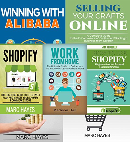 work from home e commerce shopify bundle 2 shopify books